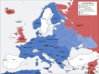 WW II map info