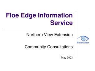 Floe Edge Information Service