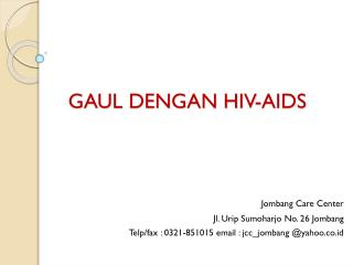GAUL DENGAN HIV-AIDS