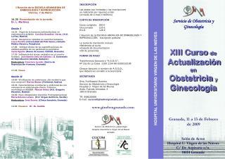Servicio de Obstetricia y Ginecolog a