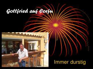 Gottfried auf Corfu