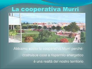 La  cooperativa  Murri