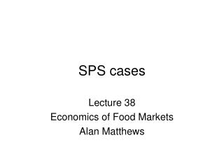 SPS cases