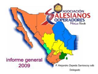informe general 2009