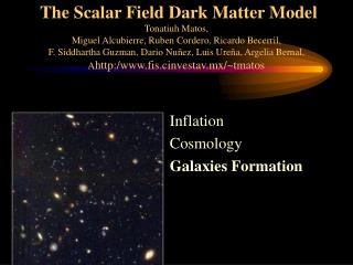 Inflation Cosmology Galaxies Formation