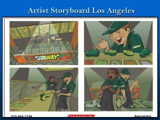Artist Storyboard Los Angeles