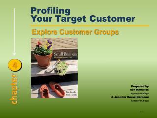 Profiling  Your Target Customer
