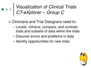 Visualization of Clinical Trials CT-eXplorer – Group C