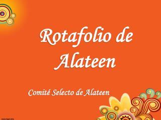 Rotafolio  de  Alateen