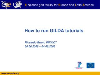 How to run GILDA tutorials
