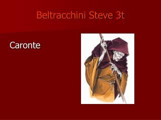 Beltracchini Steve 3t