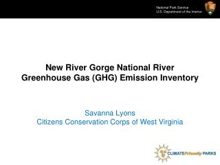 New River Gorge National River Greenhouse Gas (GHG) Emission Inventory