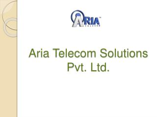 Profitable Via Aria CCS Interactive Voice Response System