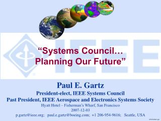 """Systems Council…  Planning Our Future"""