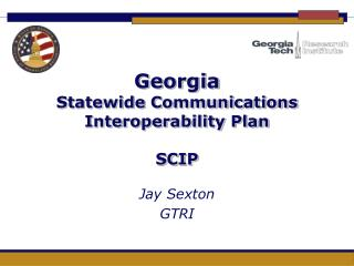 Georgia Statewide Communications Interoperability Plan SCIP