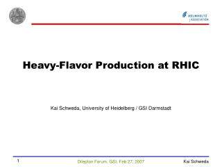 Heavy-Flavor Production at RHIC