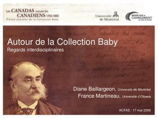 Autour de la Collection Baby Regards interdisciplinaires