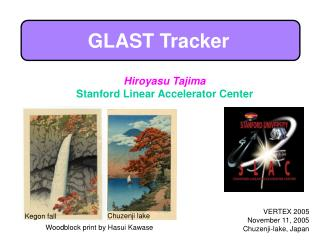 GLAST Tracker