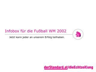 Infobox für die Fußball WM 2002