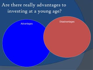 Are there really advantages to  investing at a young age?