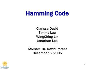 Hamming Code