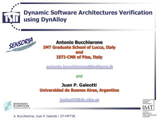 Dynamic Software Architectures Verification  using DynAlloy