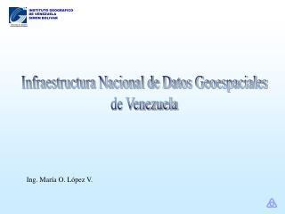 Infraestructura Nacional de Datos Geoespaciales de Venezuela