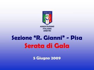 Premi Sezionali 2008-2009