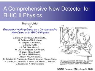 A Comprehensive New Detector for RHIC II Physics