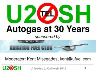 Autogas at 30 Years sponsored by: