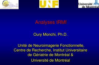 Analyses IRMf