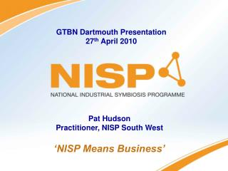 'NISP Means Business'