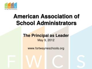 American Association of School Administrators