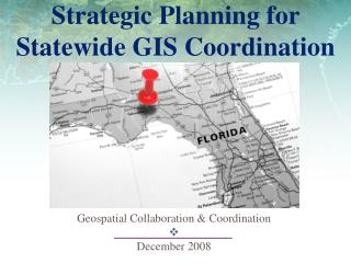 Strategic Planning for Statewide GIS Coordination