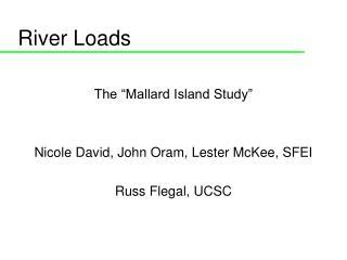 River Loads