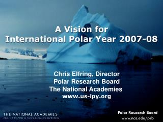Polar Research Board nas/prb