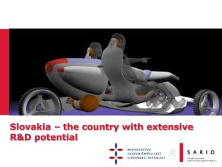 Slovakia – the country with extensive R&D potential