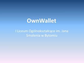 OwnWallet