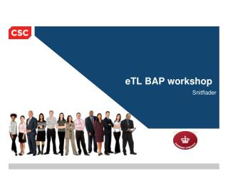 eTL BAP workshop