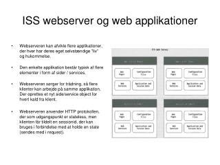 ISS webserver og web applikationer