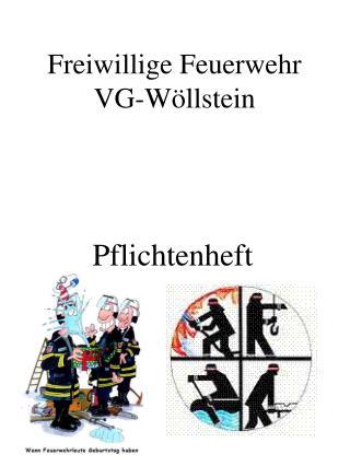 Freiwillige Feuerwehr VG-W�llstein