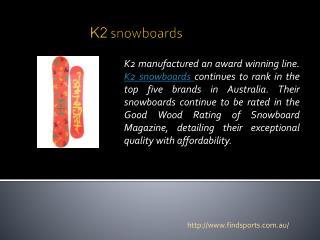 k2 snowboards