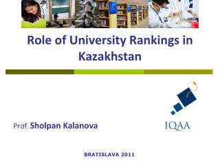 Role of University Rankings in Kazakhstan