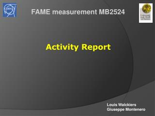 FAME measurement MB2524