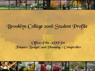 Brooklyn College 2008 Student Profile