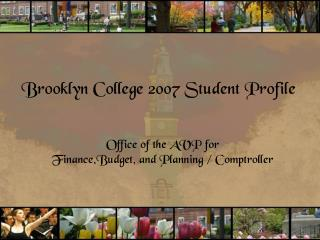 Brooklyn College 2007 Student Profile