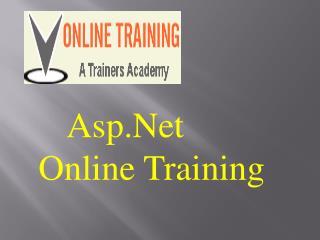 ASP .Net Online Training @VOnlineTraining  1-610 99