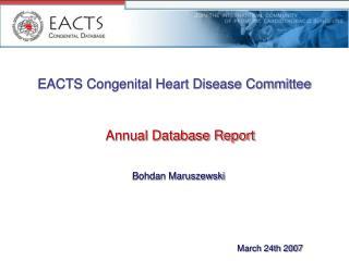 EACTS Congenital Heart Disease Committee