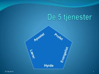 De 5 tjenester