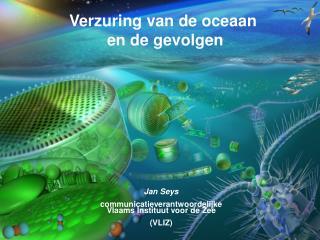 Jan Seys communicatieverantwoordelijke Vlaams Instituut voor de Zee (VLIZ)